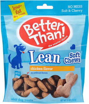 Better Than!™ Chicken Flavor Lean Soft Chews Adult Dog Treats 8 oz. Bag