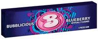 Bubblicious 5 Piece Packs Blueberry Bubble Gum 5 Ct