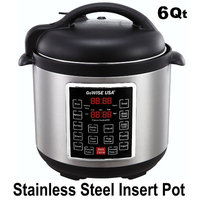 Gowise Usa 6-Quart 4th Generation Pressure Cooker/Slow Cooker