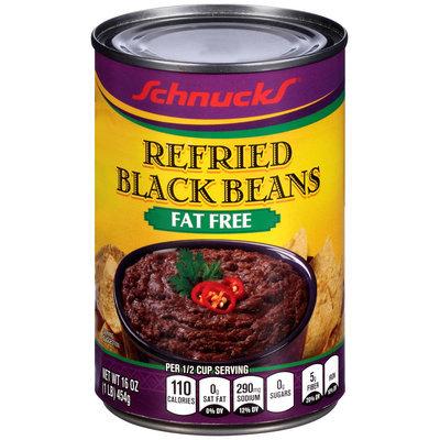 Schnucks® Fat Free Refried Black Beans 16 oz. Can