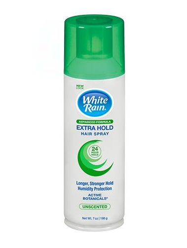 White Rain® Styling Extra Hold Unscented Aerosol Can Hair Spray