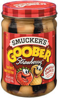 Smucker's Strawberry Stripes Goober Peanut Butter & Jelly 18 Oz Jar