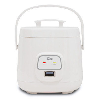 Elite By Maxi-matic Cuisine 4-Cup Personal Multi Cooker Color: White