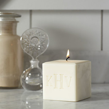 Birch Lane Brewer Monogrammed Candle Initial: 3 Initial
