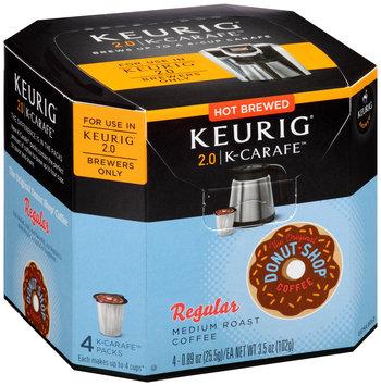 The Original Donut Shop® Regular Medium Roast Coffee K-Carafe™ Packs 4 ct Box