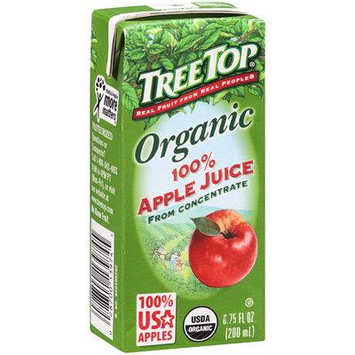 Tree Top® Organic 100% Apple Juice 6.75 fl. oz. Box