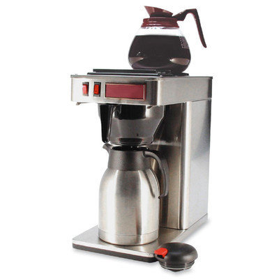 CoffeePro Commercial Server Brewer, 1.25 Quarts, Stainless Steel