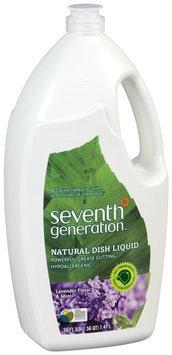 Seventh Generation™ Lavender Floral & Mint Natural Dish Liquid 50 fl. oz. Plastic Bottle
