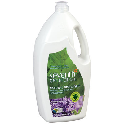 Seventh Generation™ Lavender Floral & Mint Natural Dish Liquid 50 fl. oz. Plastic Bottle