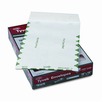 Survivor Tyvek USPS First Class Mailer, Side Seam, 10 X 15, 100/Box