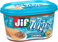 Jif® Whips Whipped Peanut Butter & S'Mores 15.9 oz. Tub