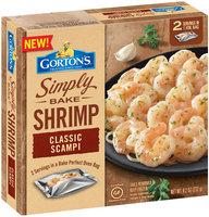 Gorton's® Simply Bake Shrimp Classic Scampi 8.2 oz. Box