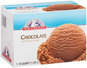 Polar Treats® Chocolate Low Fat ice Cream 1.75 qt. Carton