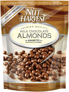 Nut Harvest® Amaretto Flavored Milk Chocolate Almonds