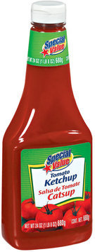 Special Value Tomato Ketchup 24 Oz Plastic Bottle
