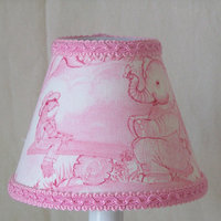 Silly Bear Kelly's Toile Table Lamp Shade
