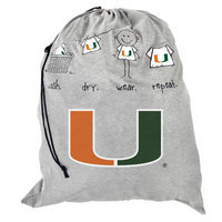 Forever Collectibles NCAA Laundry Bag NCAA Team: Miami