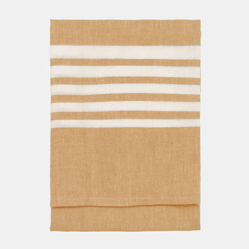 Nine Space Bali Kitchen Towel, 30 x 20, Gold, 1 ea
