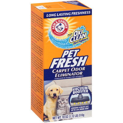 ARM & HAMMER™ Plus OxiClean™ Dirt Fighters Carpet Odor Eliminator Pet Fresh