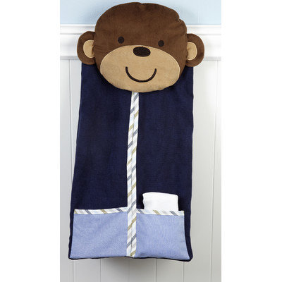 Crown Craft Carter's - Monkey Collection Diaper Stacker