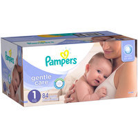 Pampers® Gentle Care Newborn Diapers Size 1