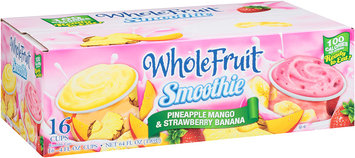 Whole Fruit® Pineapple Mango & Strawberry Banana Smoothie 16-4 fl. oz. Cups