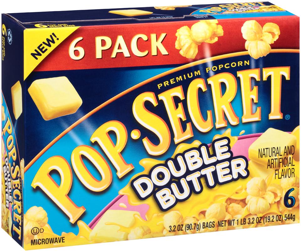 Pop-Secret® Double Butter Popcorn