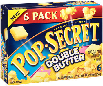 Pop-Secret® Double Butter Popcorn