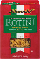 Schnucks® Rotini Pasta 16 oz. Box