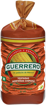 Guerrero® Nortenas Chipotle Tostadas 12.37 oz. Bag