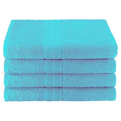 Simple Luxury Superior Bath Towel (Set of 4), Turquoise