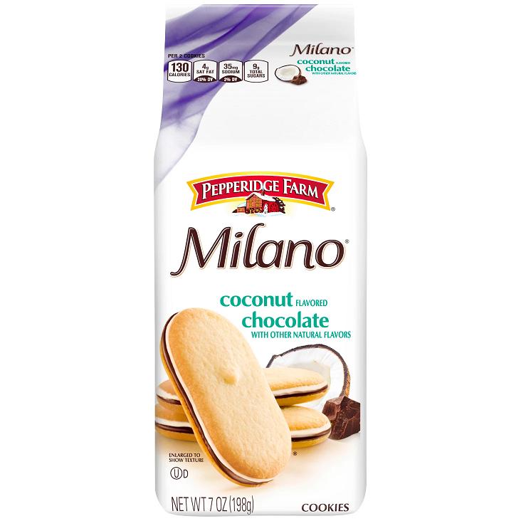 Pepperidge Farm® Milano® Chocolate Coconut Cookies