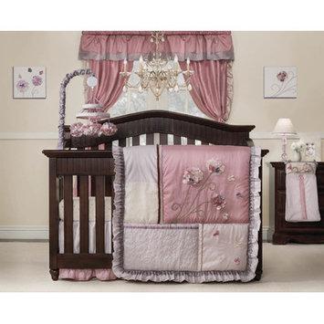 Kidsline Fleur 9 Piece Crib Bedding Set