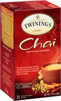 Twinings® of London Chai Tea Bags 25 ct Box