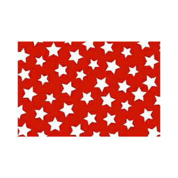 Stwd 3 Piece Primary Stars On Woven Crib Sheet Bedding Set Color: Red