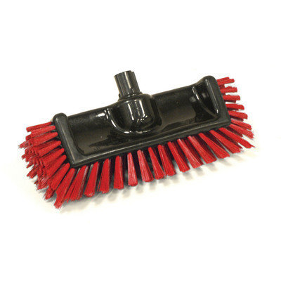 Syr Scrator Brush BLacK with Bristles Bristles: Red