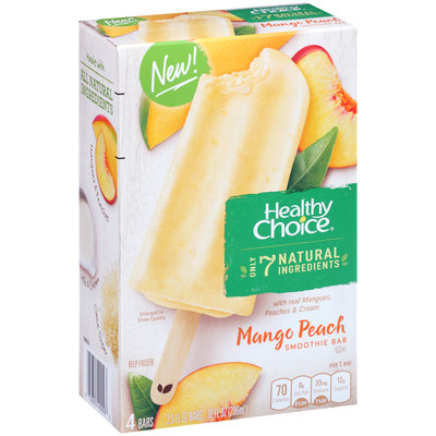 Healthy Choice® Mango Peach Smoothie Bar 4-2.5 fl. oz. Bars