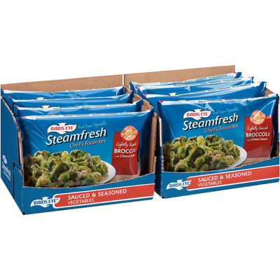 Birds Eye® Steamfresh™ Broccoli with Cheese Sauce 8-12 oz. Bags