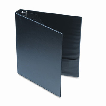 Universal Products Universal D-Ring Binder with Label Holder, 1in Capacity