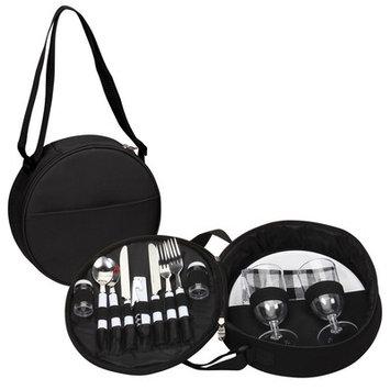 Goodhope Bags 2 Piece Picnic Case Set Color: Black