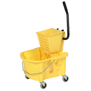 Splash Guard Mopbucket 26Qt Combo 226312YW by Continental Commercial