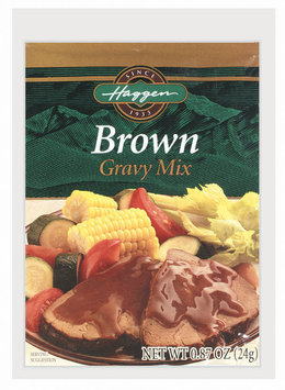 Haggen Brown Gravy Mix .87 Oz Packet