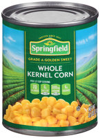 Springfield® Golden Sweet Whole Kernel Corn 8.5 oz. Can
