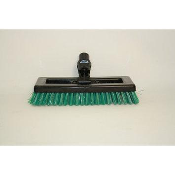 Syr Swivel Deck Brush BLK Bristles Color: Green