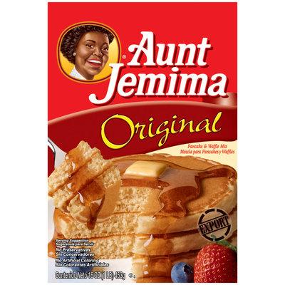 Aunt Jemima Original International Pancake & Waffle Mix 1 Lb Box