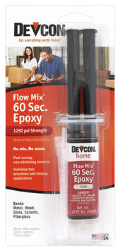 Devcon® Home Flow Mix® 60 Second Epoxy 0.47 fl. oz. Syringe