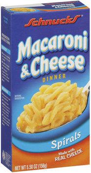 Schnucks Macaroni & Cheese Dinner 5.5 Oz Box