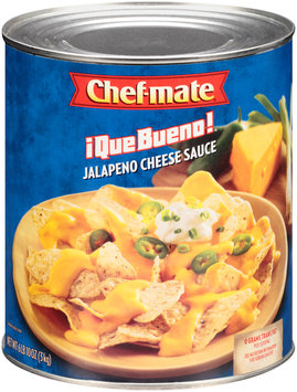 Chef-mate® Que Bueno Jalapeno Cheese Sauce 106 oz. Can