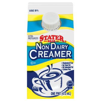 Stater Bros. Non Dairy Creamer 1 Pt Carton