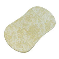 Stwd Floral Forest Fitted Bassinet Sheet Color: Cream